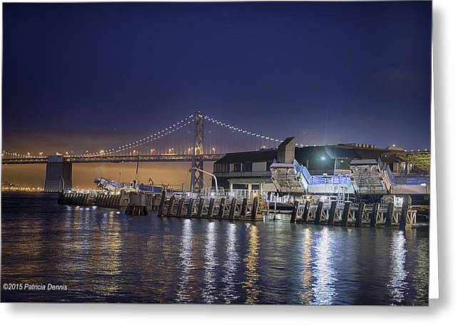 San Francisco Bay Greeting Cards - By the Bay Greeting Card by Patricia Dennis
