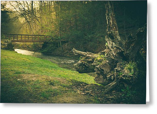 Virginia Landscape Greeting Cards - A Place...by The Bridge Greeting Card by Shane Holsclaw