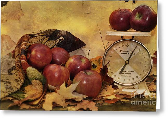 Autumn Photographs Photographs Greeting Cards - By The Pound Greeting Card by Kathy Jennings
