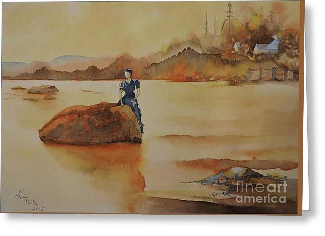 By The Sea  Greeting Card by Lise PICHE