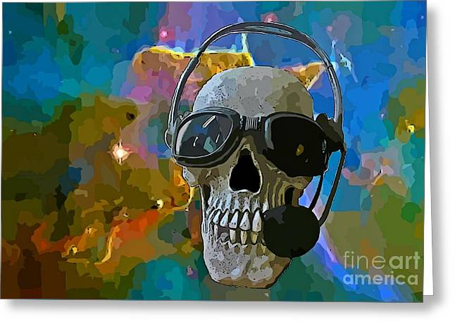 Outerspace Greeting Cards - By the Time You Receive this Message Greeting Card by John Malone