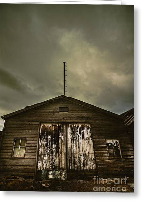 Bygone Farmstead  Greeting Card by Jorgo Photography - Wall Art Gallery
