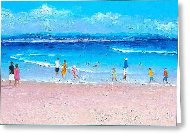 Beach Themed Greeting Cards - Byron Bay Afternoon Greeting Card by Jan Matson