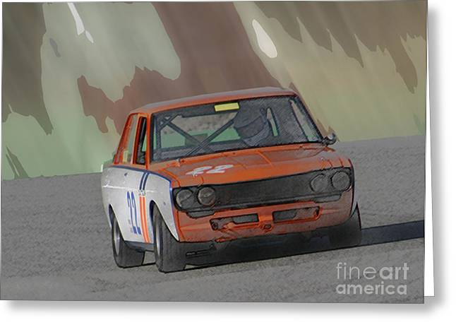Bmw 2002 Greeting Cards - C53 Greeting Card by Tom Griffithe