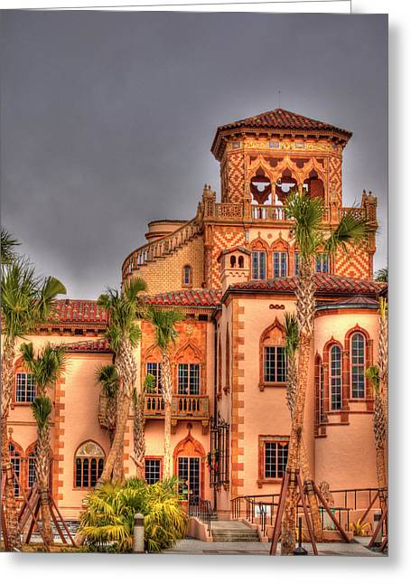 Ringling Brothers Greeting Cards - Ca dZan Mansion South Greeting Card by John Knapko