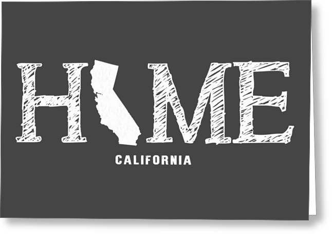 Ca Home Greeting Card by Nancy Ingersoll