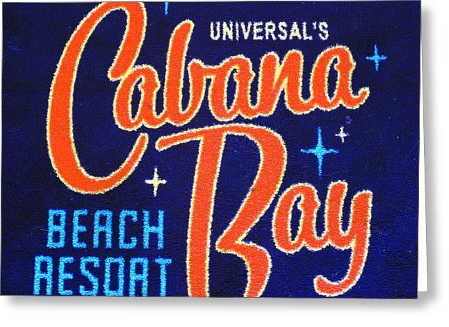 Cabana Greeting Cards - Cabana Bay welcome carpet Greeting Card by David Lee Thompson