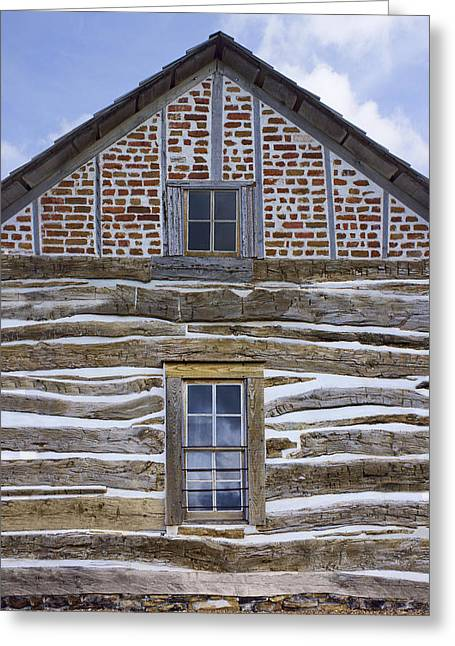 Log Cabins Greeting Cards - Cabin - Homestead - National Monument Greeting Card by Nikolyn McDonald