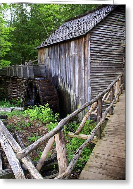 Cable Mill 3 Greeting Card by Marty Koch