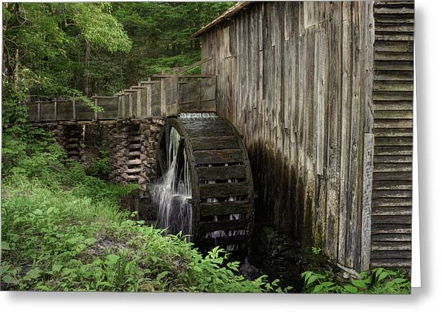 1870s Greeting Cards - Cable Mill - Cades Cove - Tennessee Greeting Card by Nikolyn McDonald