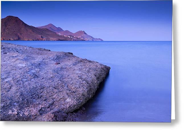 Cabo De Gata Natural Park Greeting Card by Guido Montanes Castillo