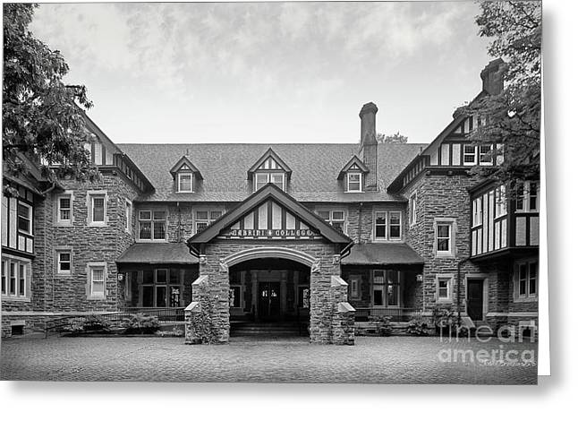 Cabrini College The Mansion Greeting Card by University Icons