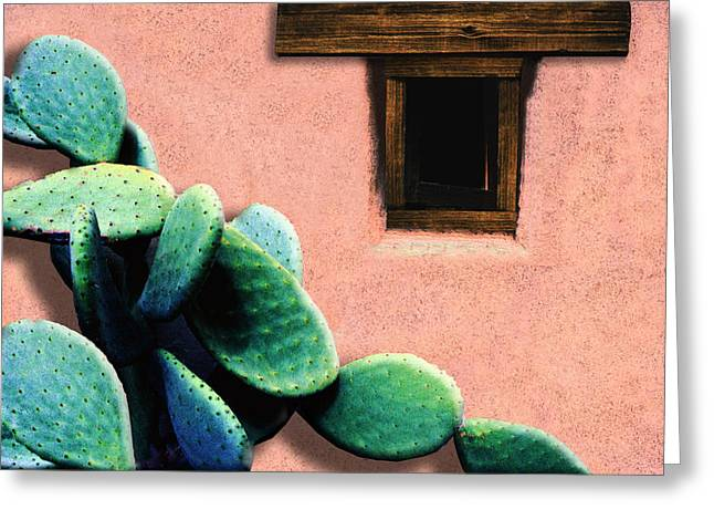 Adobe Digital Greeting Cards - Cactus Greeting Card by Paul Wear