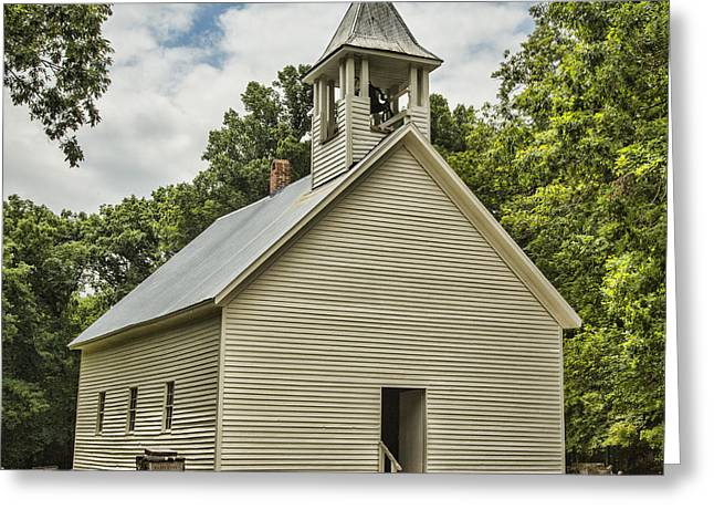 Fundamentalism Greeting Cards - Cades Cove Primitive Baptist Church Greeting Card by Stephen Stookey