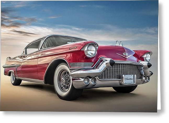 Cadillac Jack Greeting Card by Douglas Pittman