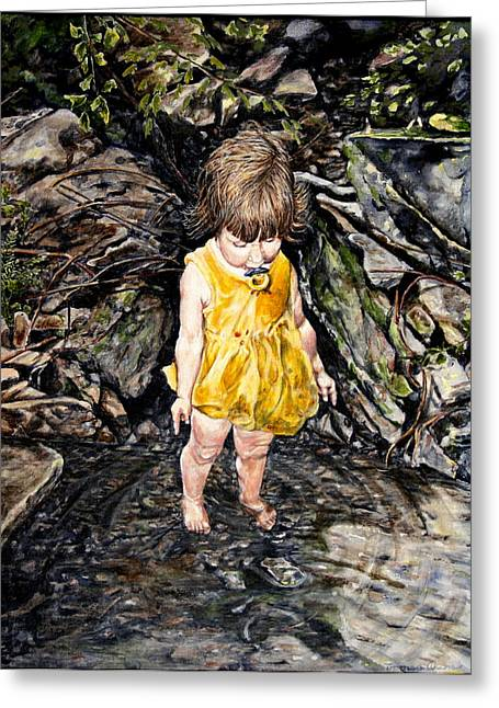 Caice At Otter Creek Greeting Card by Thomas Akers
