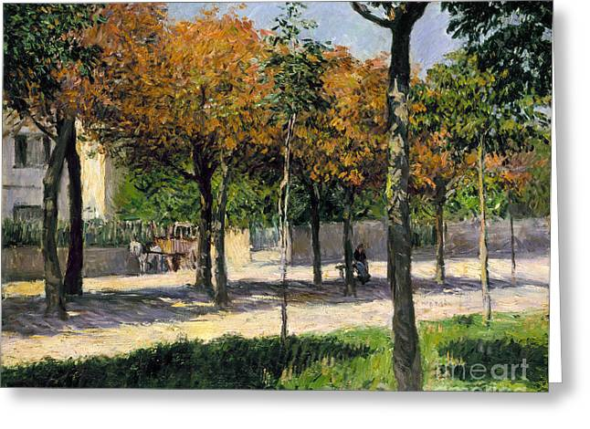 1880s Greeting Cards - Caillebotte: Argenteuil Greeting Card by Granger