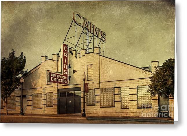 Cain's Ballroom Greeting Card by Tamyra Ayles