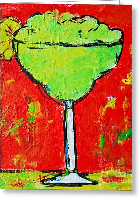 Caipirinha - Tropical Drink Greeting Card by Patricia Awapara