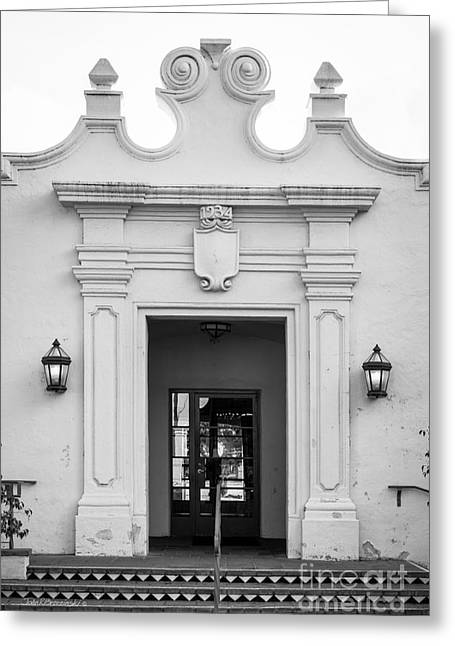 Cal State University Channel Islands Doorway Greeting Card by University Icons