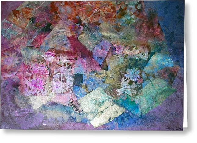 Painted Reveries Greeting Cards - Calamity Greeting Card by Don  Wright