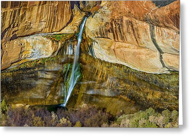 Southern Utah Greeting Cards - Calf Creek Amphitheater Greeting Card by Howie Garber