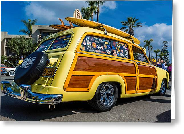Challenger Model Greeting Cards - Cali Woody Greeting Card by Phil Fitzgerald