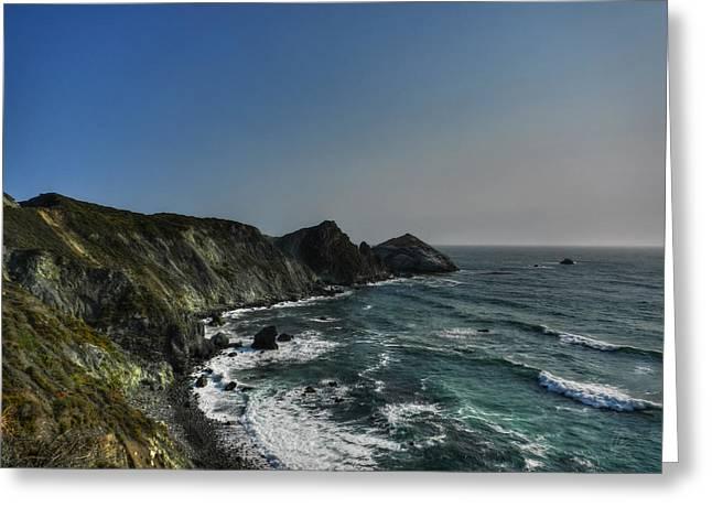 California - Big Sur 008 Greeting Card by Lance Vaughn
