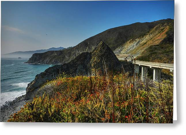 California - Big Sur 011 Greeting Card by Lance Vaughn