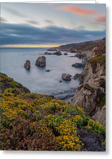 Big Sur California Greeting Cards - California Coast in Summer Greeting Card by Jonathan Nguyen