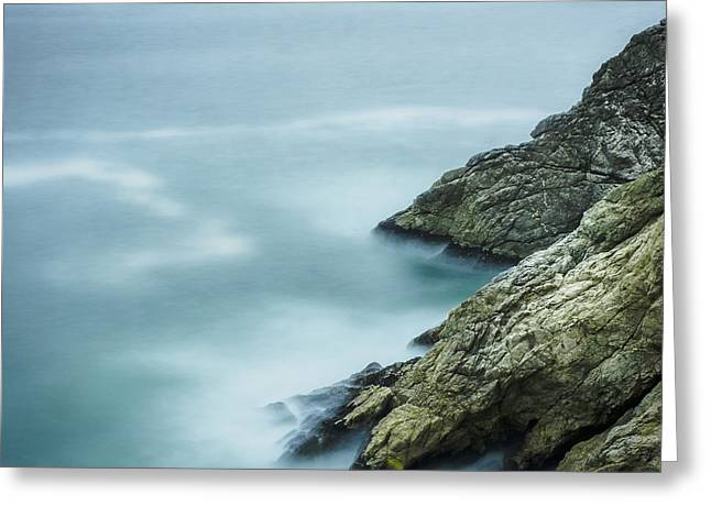 Hwy 1 Greeting Cards - California Coast Greeting Card by Steve Spiliotopoulos