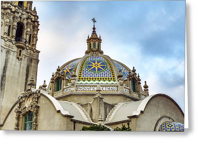 Balboa Park Greeting Cards - California Dome Greeting Card by Joseph S Giacalone
