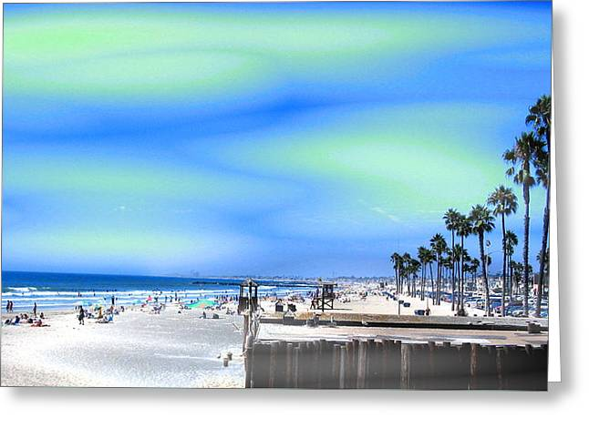 California Ocean Photography Greeting Cards - California Postcard Greeting Card by Stephen  Killeen