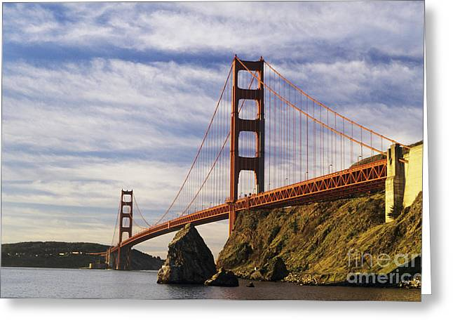 California, San Francisco Greeting Card by Larry Dale Gordon - Printscapes