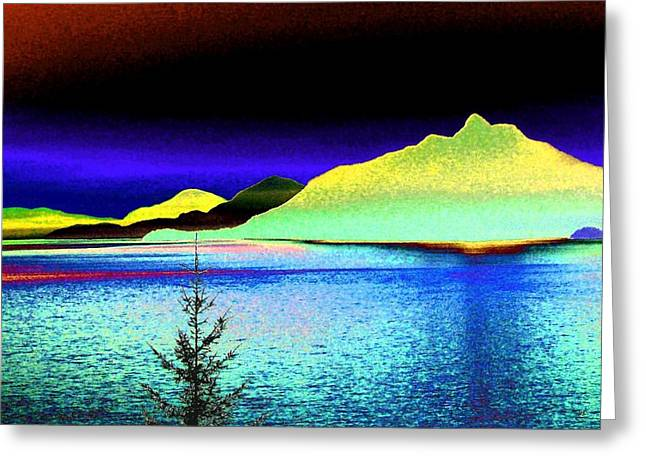 Call Of The Coast Greeting Card by Will Borden