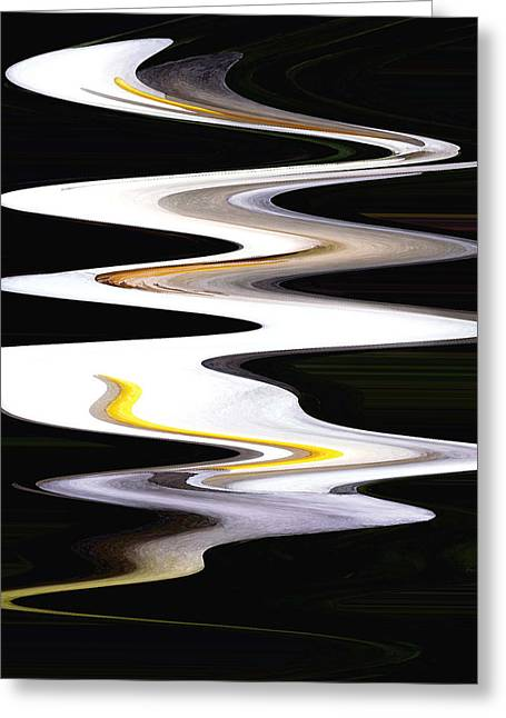 Calla River Greeting Card by Norman  Andrus