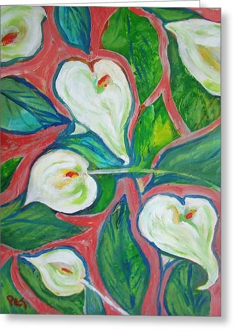 Cally Lily Expression Greeting Card by Patricia Taylor