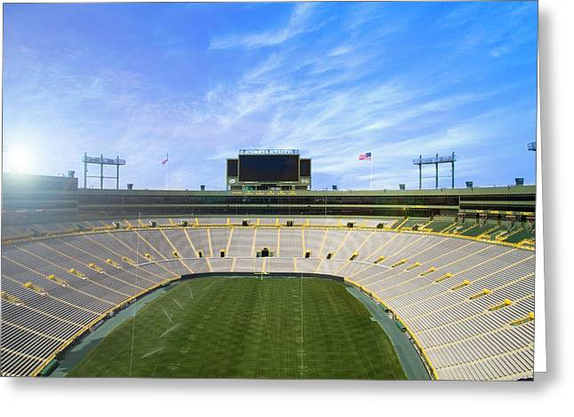 Calm Before The Game Greeting Card by Joel Witmeyer