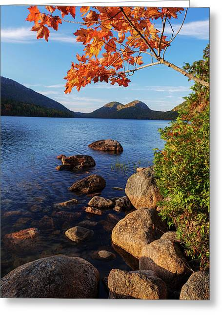 Jordan Greeting Cards - Calm Before the Storm Greeting Card by Chad Dutson