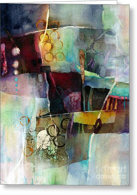 Calm Cascade Greeting Card by Hailey E Herrera