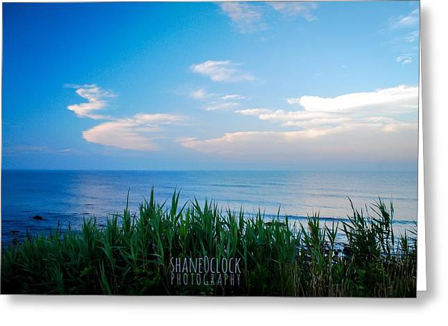 New England Ocean Greeting Cards - Calm Greeting Card by Shane Alger