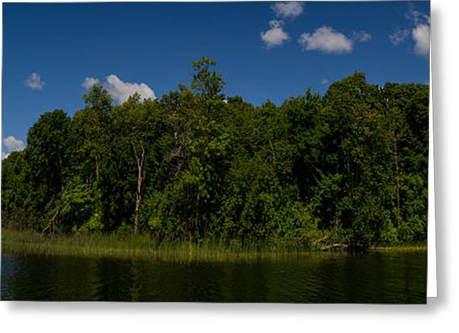 Camelot Digital Art Greeting Cards - Camelot Island Minnesota Greeting Card by Gary Eason