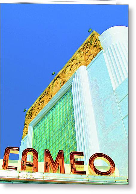 Theater Greeting Cards - Cameo Theatre Greeting Card by Jost Houk