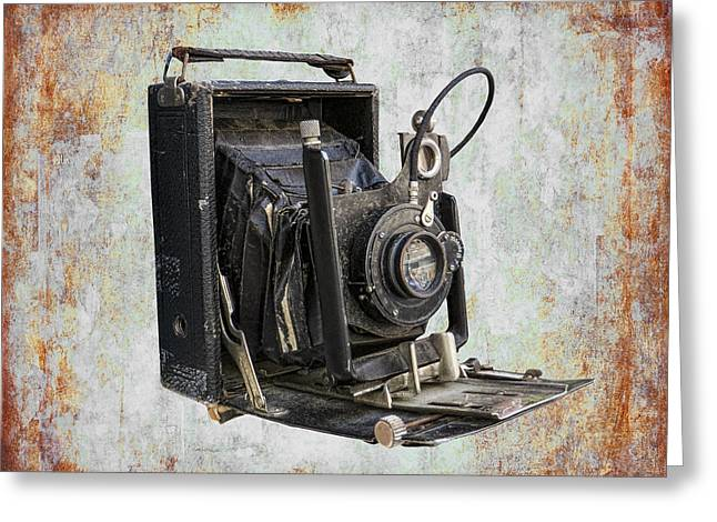 Old Camera Mixed Media Greeting Cards - Camera Obscura Greeting Card by Daniel Hagerman