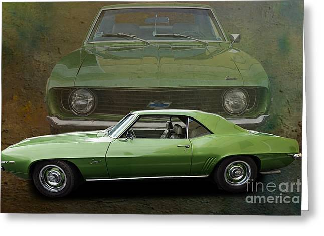 Camero Greeting Card by Jim  Hatch