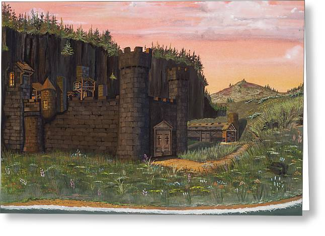 Highlands Of Scotland Greeting Cards - Camlochlin Castle Greeting Card by James Lyman
