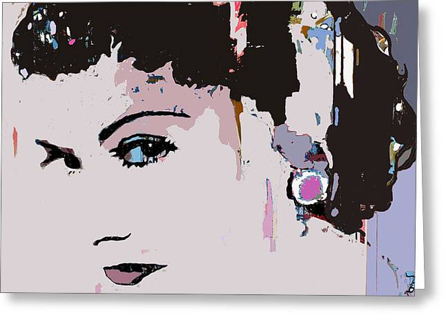 Jackie Kennedy Onassis Greeting Cards - Camouflage Chanel Greeting Card by Santiago Picatoste