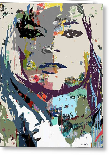 Jackie Kennedy Onassis Greeting Cards - Camouflage Kate Greeting Card by Santiago Picatoste