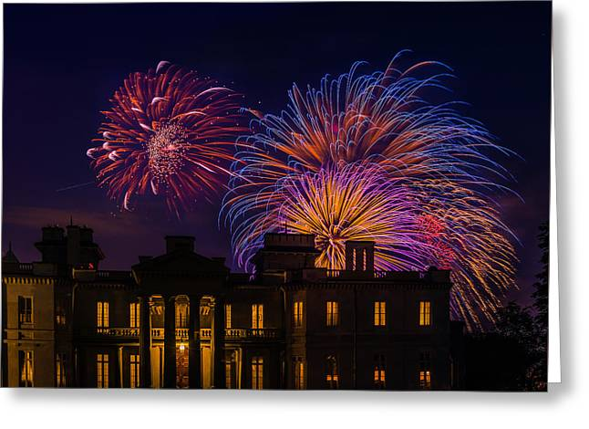 Dundurn Castle Greeting Cards - Canada Day at Dundurn Greeting Card by Rick McKenzie
