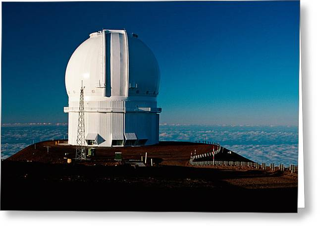Star Gazing Greeting Cards - Canada France Hawaii Telescope 2 Greeting Card by Gary Cloud